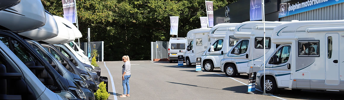 Dolphin Motorhomes Hampshire Motorhome Display