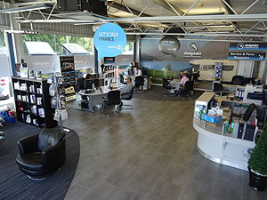 Dolphin Motorhome Hampshire Showroom