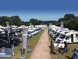 2017 Shamba Aerial Motorhome Display