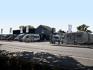 Dolphin Motorhomes Hampshire 2020 Motorhome Display From Road