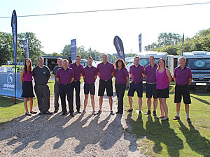 Dolphin Team at Summer Spectacular 2014